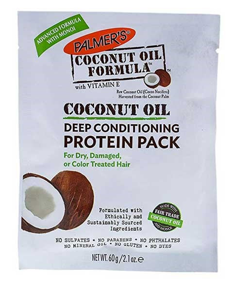 Coconut Oil Formula Conditioning Protein Pack