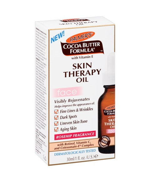 Cocoa Butter Formula Skin Therapy Oil For Face