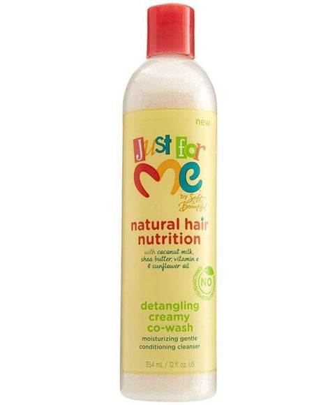 Natural Hair Nutrition Detangling Creamy Co Wash