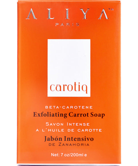 Aliya Carotiq Exfoliating Carrot Soap