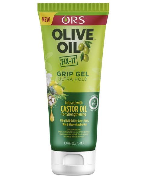 Olive Oil Grip Gel Ultra Hold Infused With Castor Oil