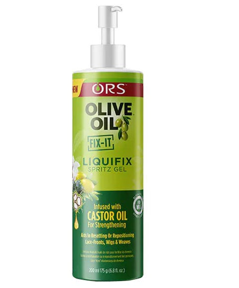 Olive Oil Fix It Liquifix Spritz Gel Infused With Castor Oil