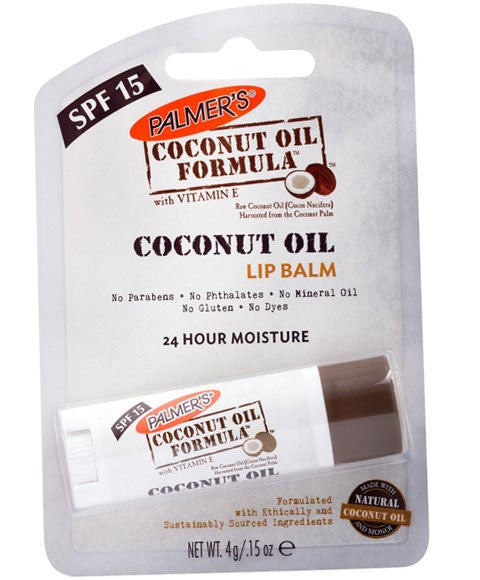 Coconut Oil Formula Coconut Oil Lip Balm