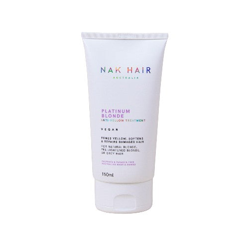 NAK Platinum Blond Anti-Yellow Treatment 150ml