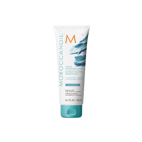 Moroccan Oil Color Deposit Mask Aqua Marine