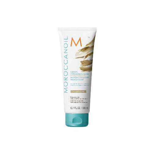 Moroccan Oil Color Deposit Mask Champagne