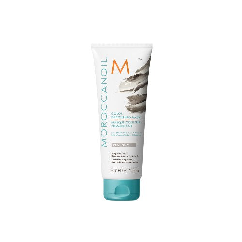 Moroccan Oil Color Deposit Mask Platinum