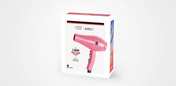 Pop Hair Dryer Advanced 2000w (free Alterego styling brush while stocks last)