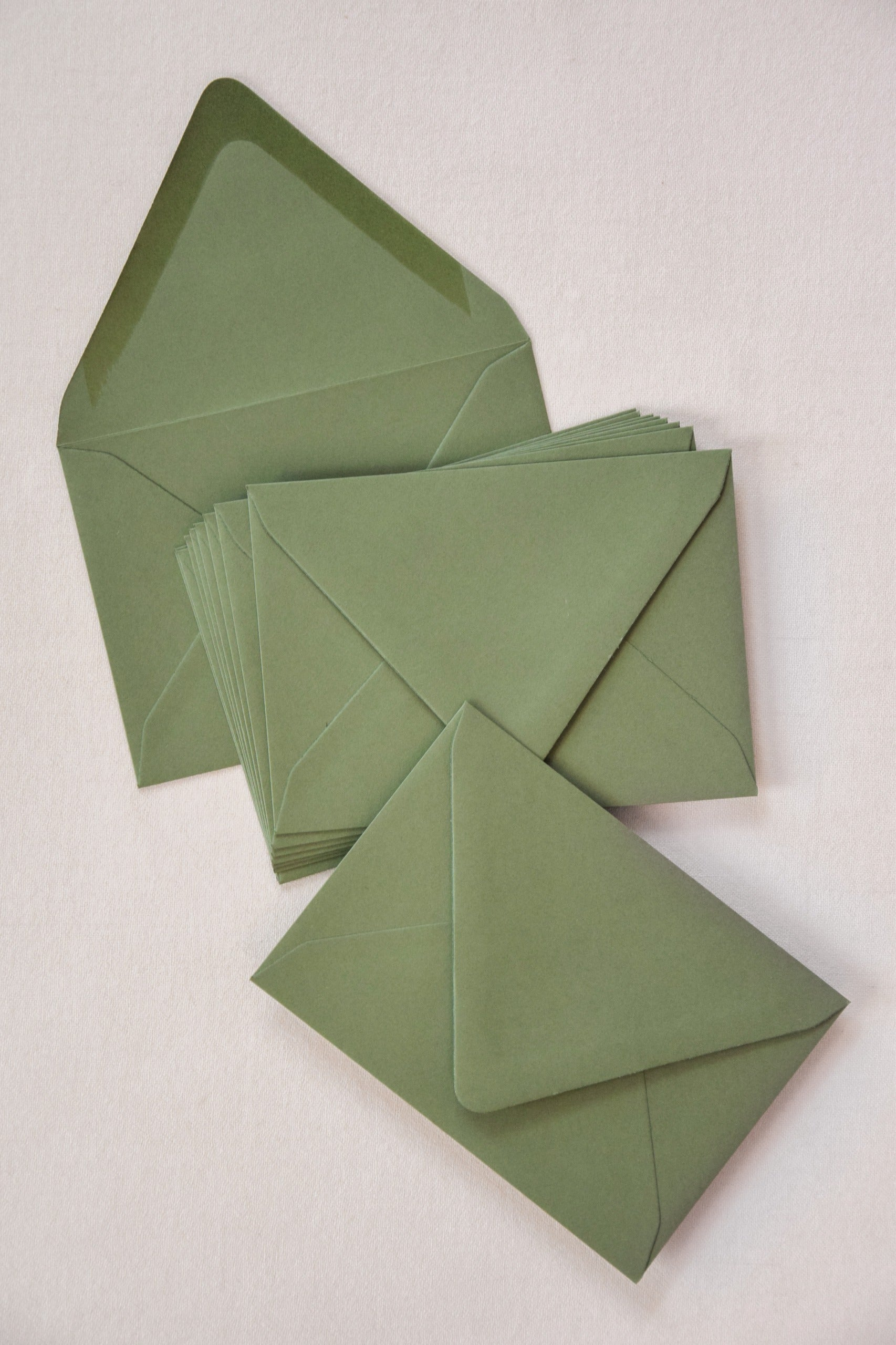 Envelopes Euro Flap / Mid Green