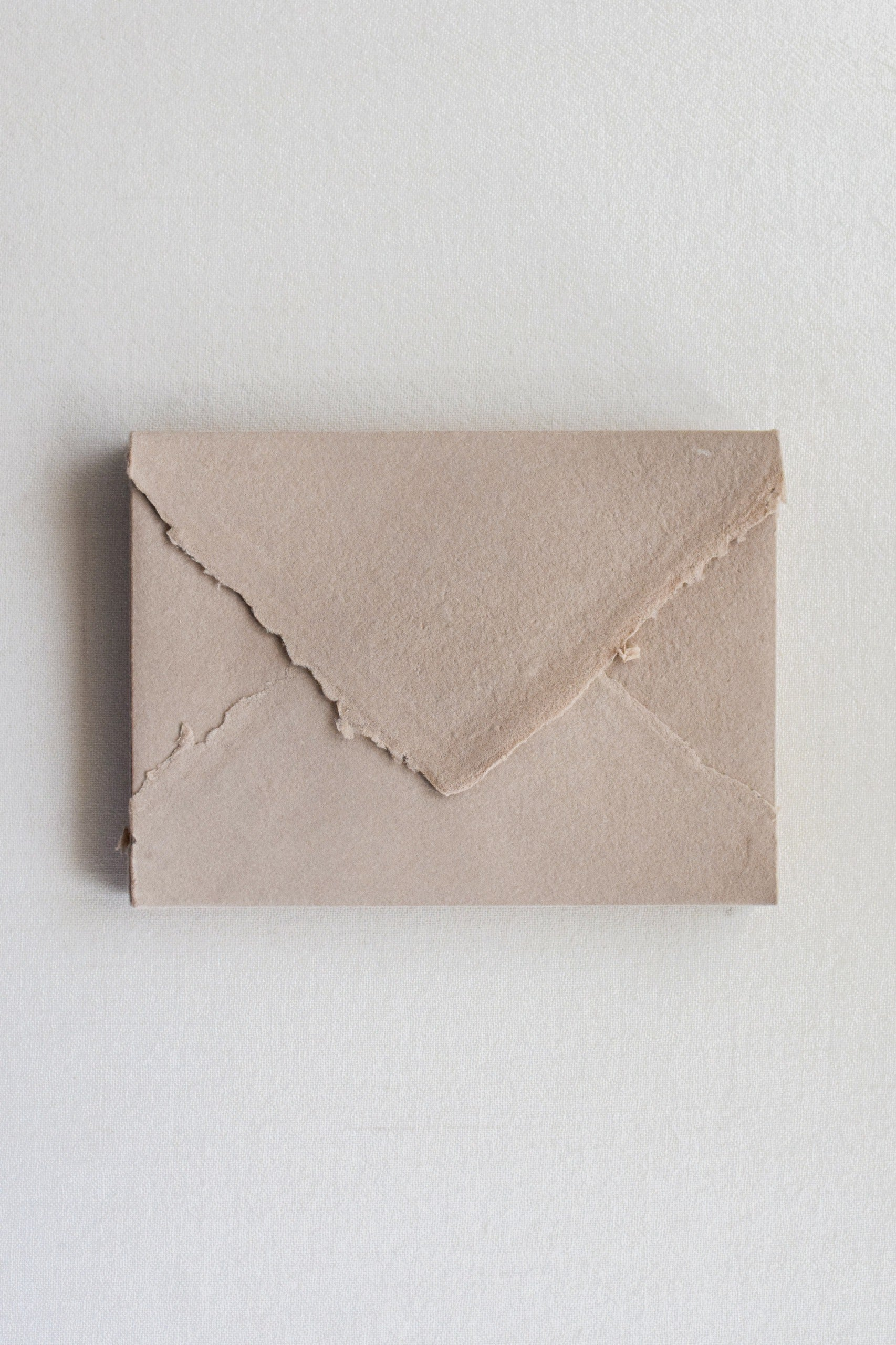 Handmade Paper Envelopes US A7 / Nude Brown