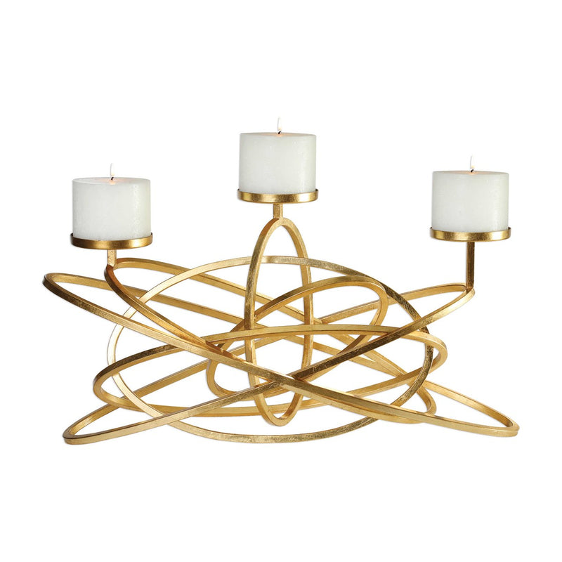 Mishka Candelabra Candle Holder