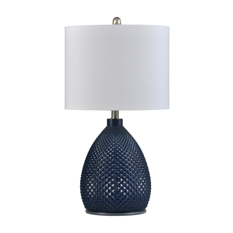 Table Lamp Navy Blue L27920 - Stylecraft