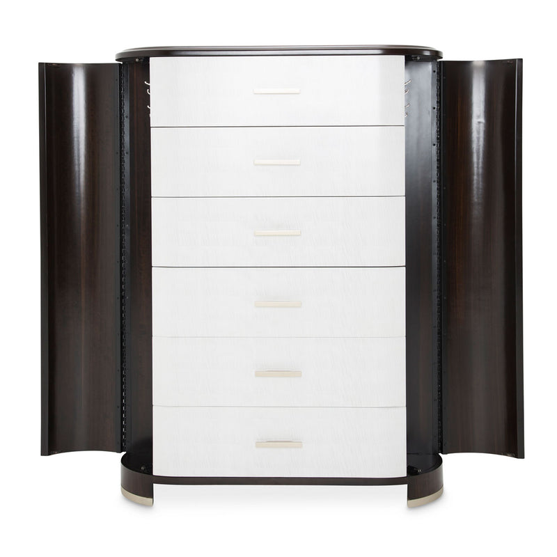 Paris Chic 6 Drawer Chest