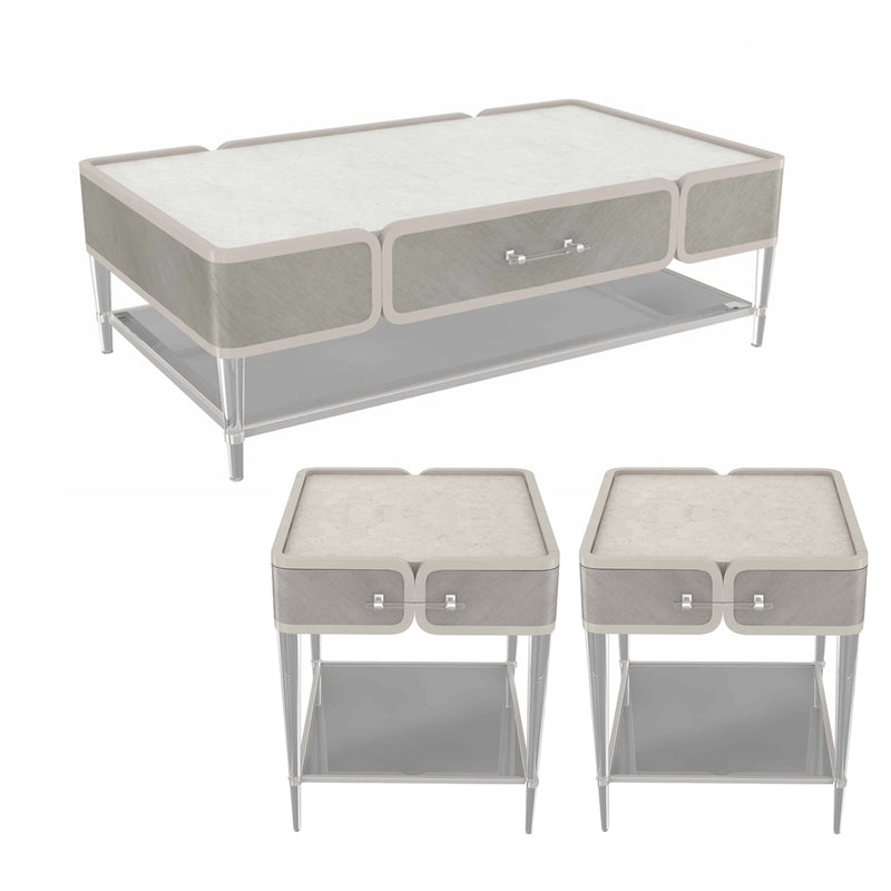 Lanterna Set Table Silvermist (CT+ET+ET)