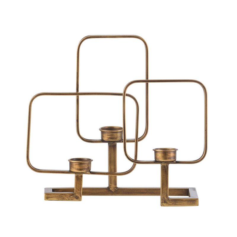 Geometric Candle Holder AV44647 - AB Home