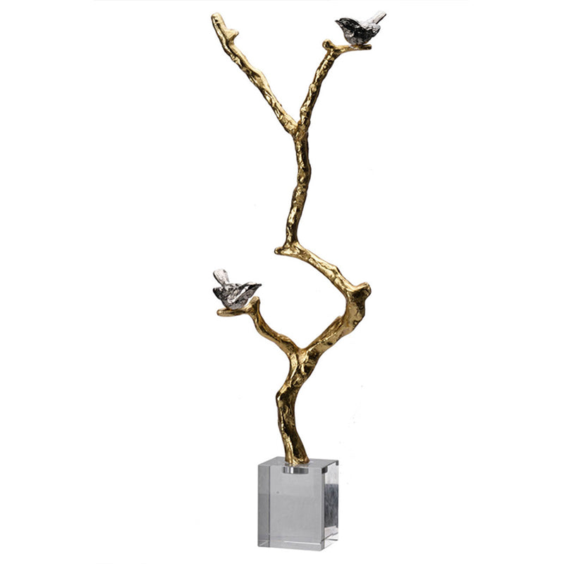 Sculpture On Crystal Stand AV42483 - AB Home