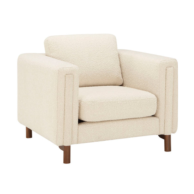 Larsen Chair - Ivory Boucle