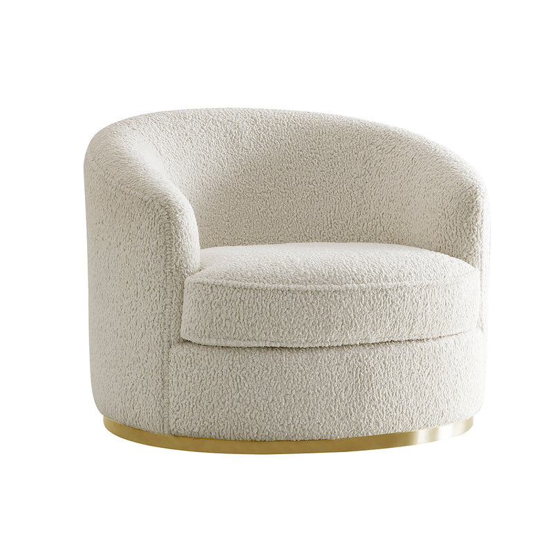 Sheepskin White Sofa Set (3+3+1+1)