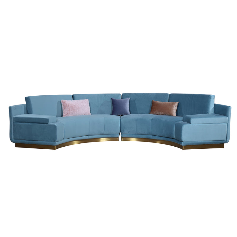 1pc Sectional Sofa S1901