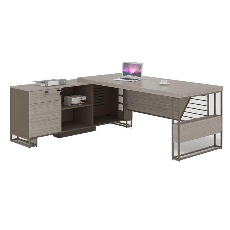 Hohe Office Table (Right) 180 cm - Nabco