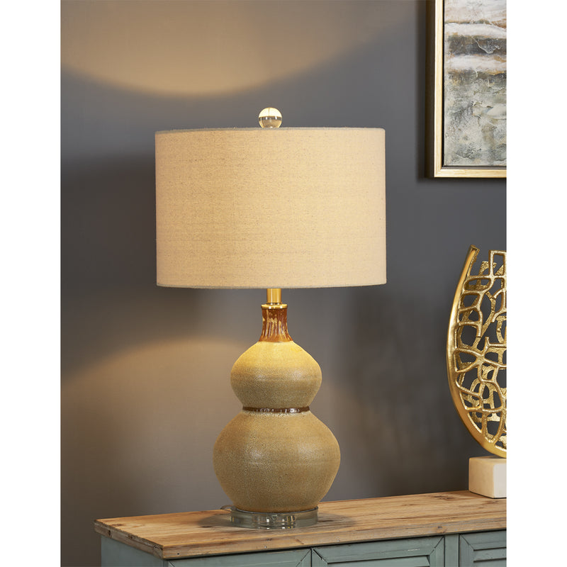 Sienna Double Gourd Table Lamp - Crestview