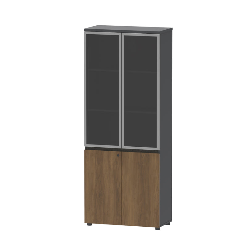 Office Filing Cabinet Dark Gray