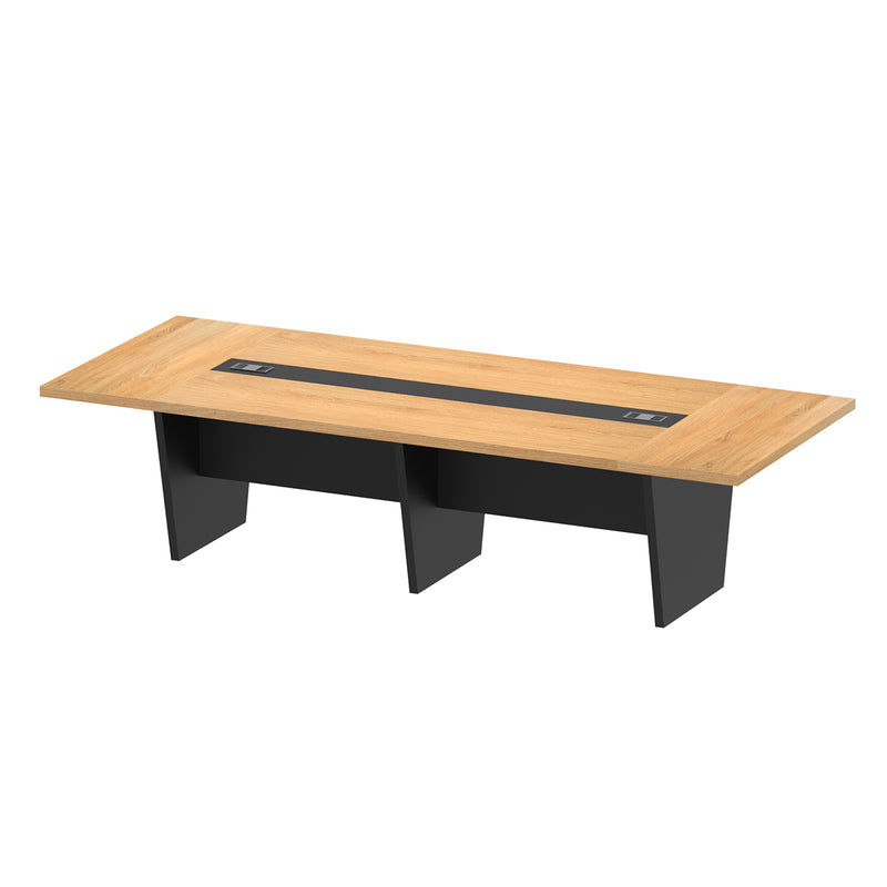 Conference Table Oak-02B