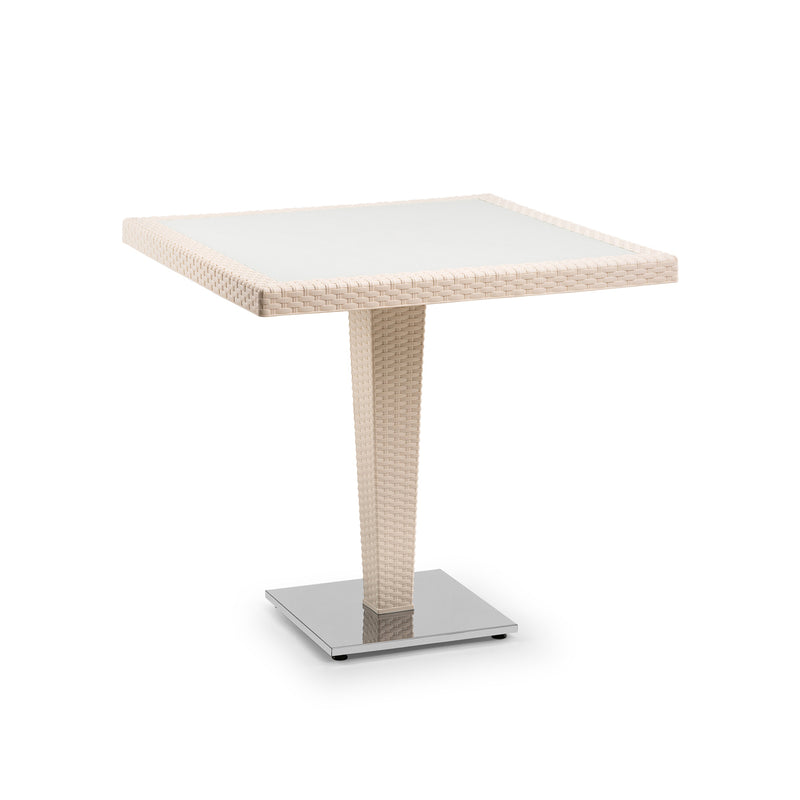 Antares Inglass Dining Outdoor Table Cream