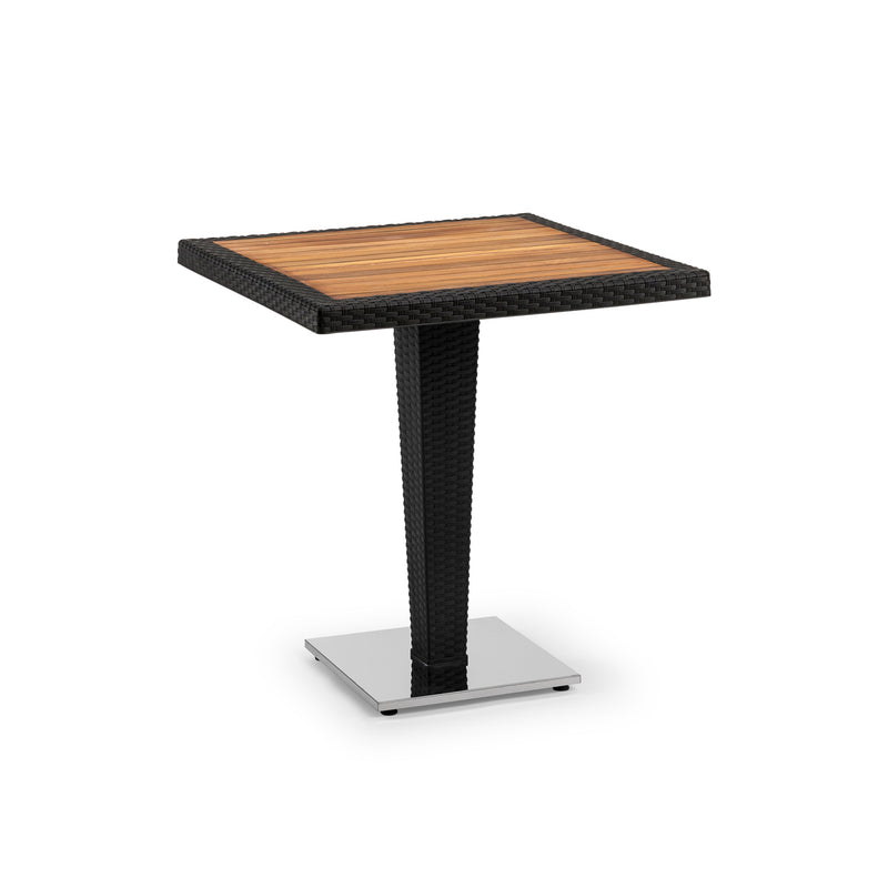 Antares Iroko Dining Outdoor Table Black - Nabco