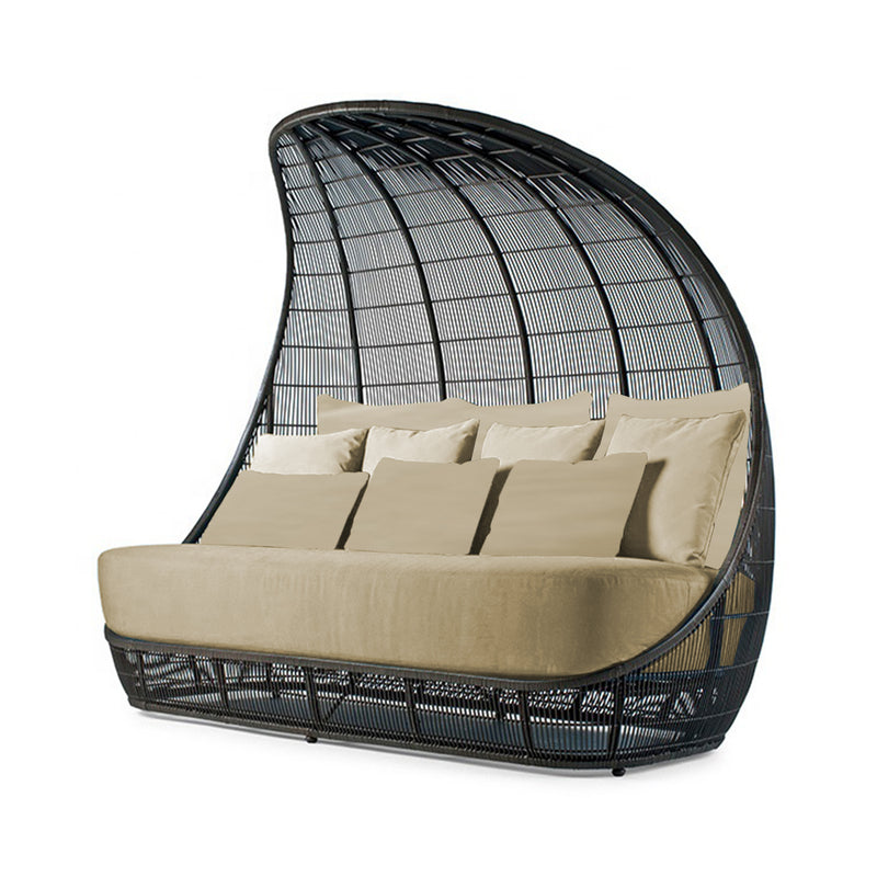 Outdoor Sofa Bed Rattan Wicker