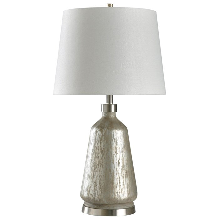 Table Lamp Carme Silver Distress Painted
