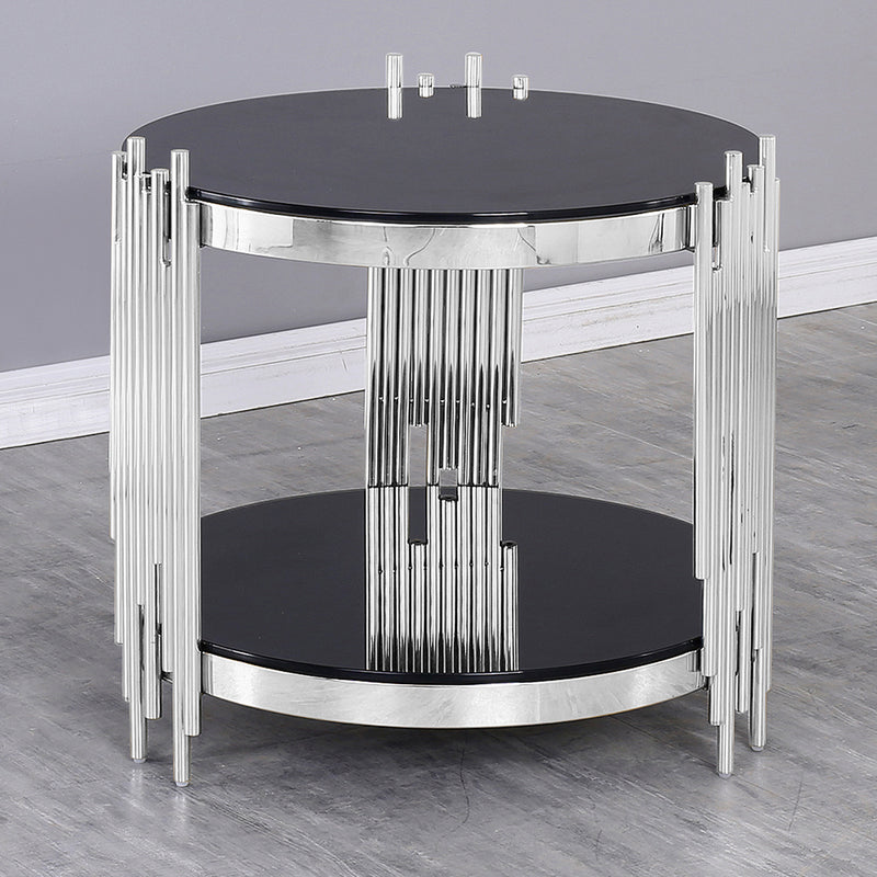 Silver-040 Side Table - Nabco Furniture Center