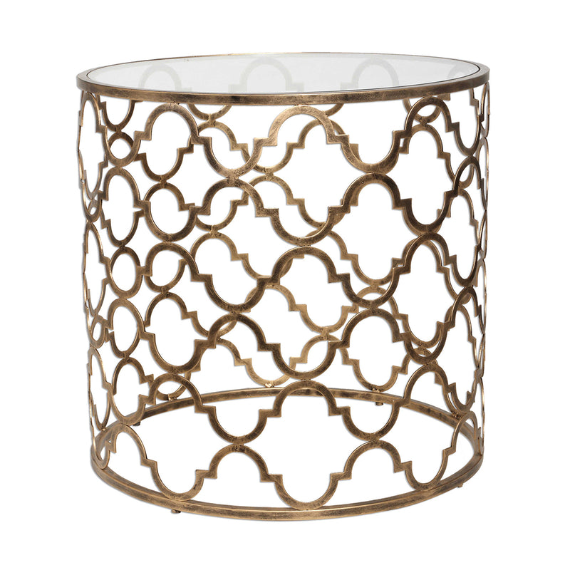 Side Table Quadrefoil - Uttermost