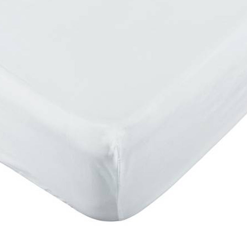 Fitted Sheet White 160X200