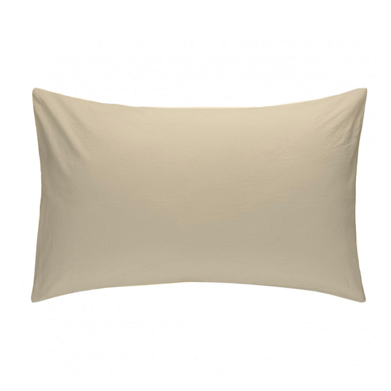 Pillowcase Beige 50x70
