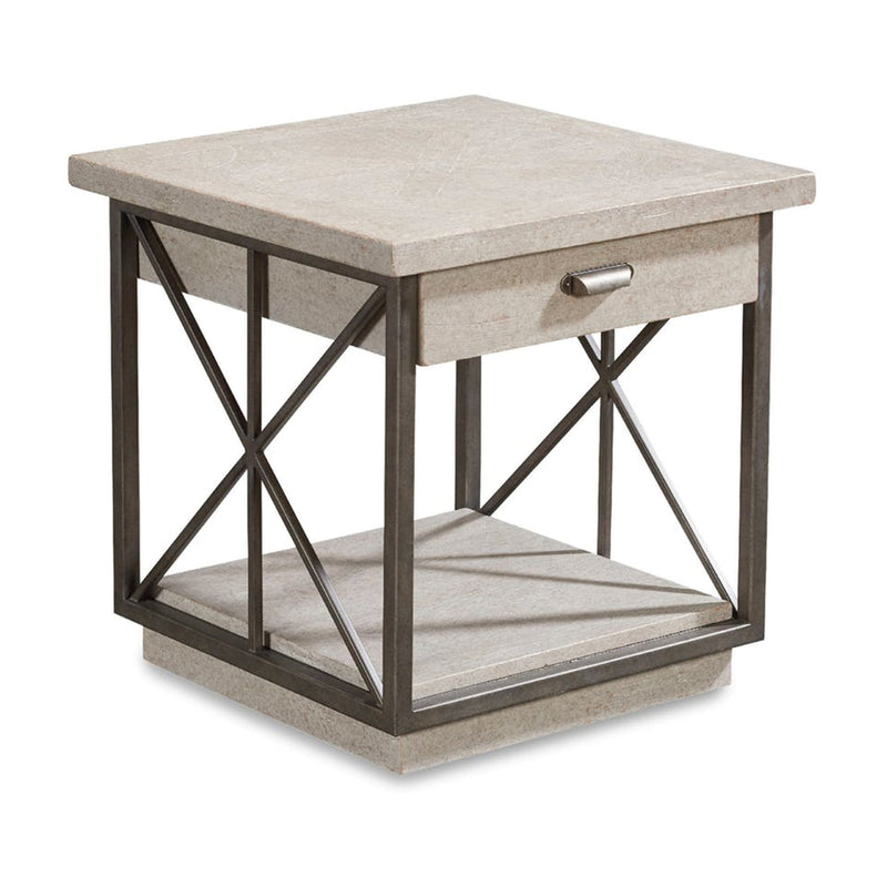 ART Furniture - Vintage Salvage Burton Mist Side Table