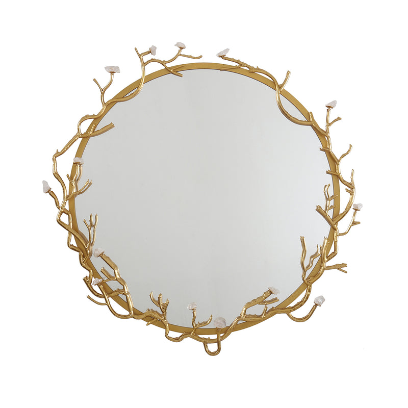 MH2758-01 Framed Gold Mirror - Nabco Furniture Center