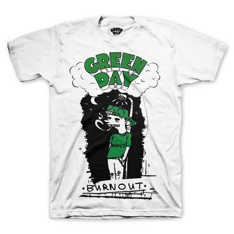 Green Day - Dookie - Burnout T-Shirt
