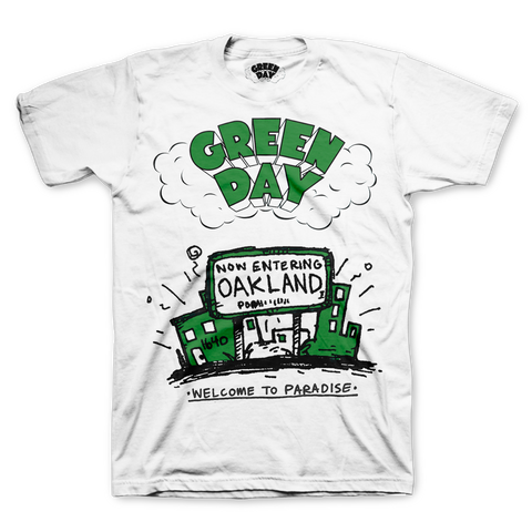 Green Day - Dookie - Welcome To Paradise T-Shirt