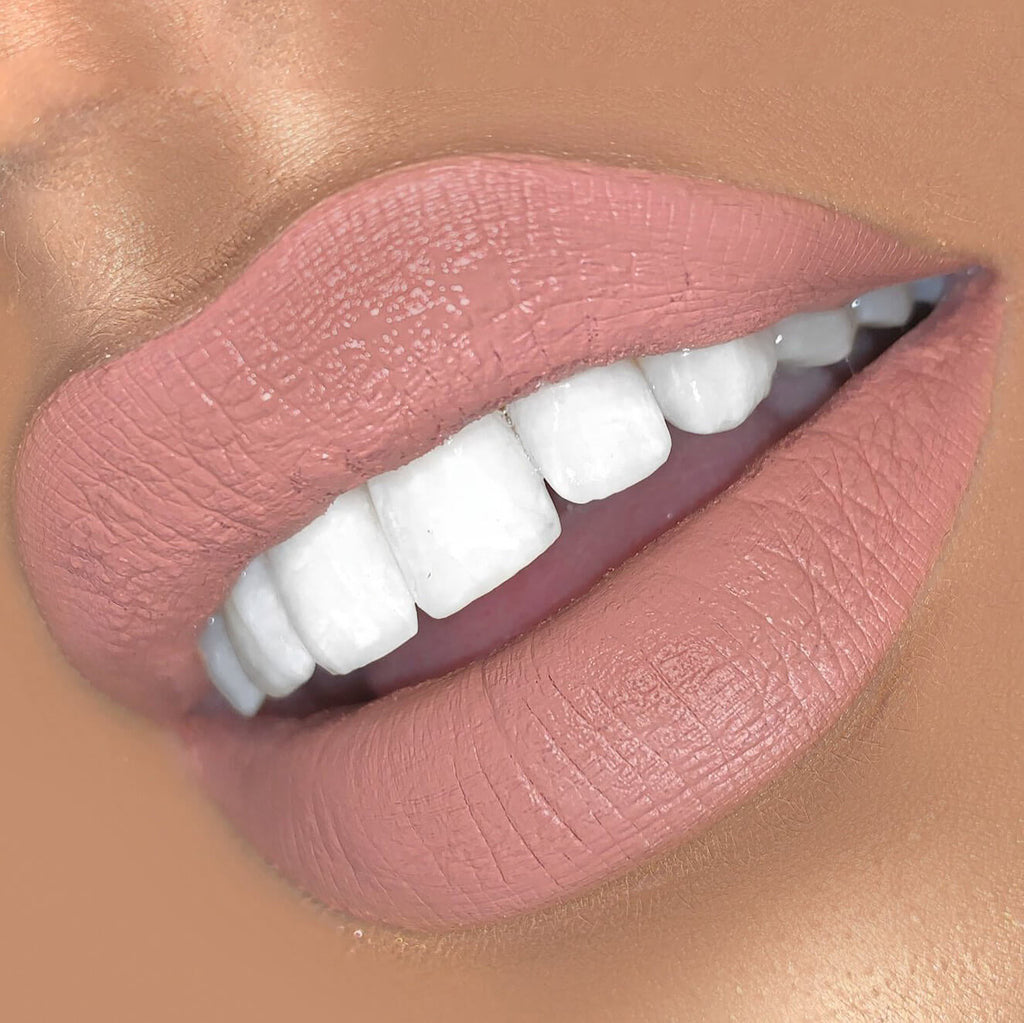 Darling Luxury Matte Liquid Lipstick on models lips