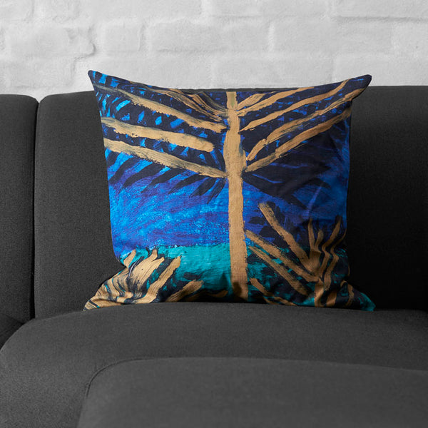 Cushion Cover Land Of Hope - by Sara