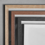 Wooden Frame - A5 - Black - Glass