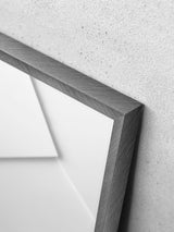 Alu Frame 30x40cm - Brushed Anthracite - Glass