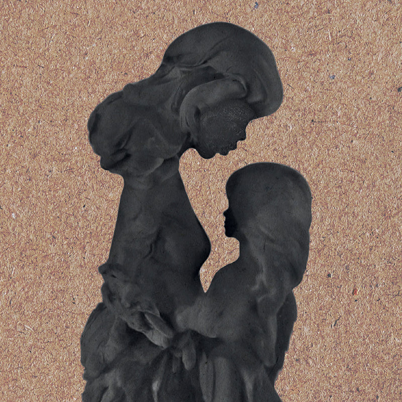 Mom And Child - 70x100cm
