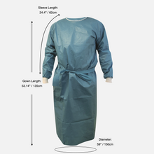 Load image into Gallery viewer, Level 3 Laminated Protective Gown with Stitched Seams (Box of 50)