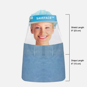 Saveface™ Premium Protection with Drape (Box of 100)