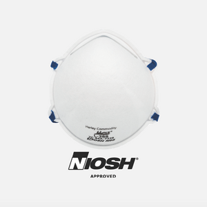 NIOSH Approved N95 Particulate Respirators (Box of 20)