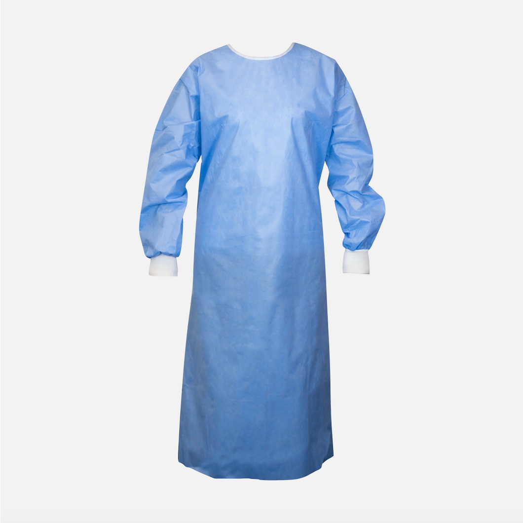 Level 2 Water Repellant Protective Gowns with Stitched Seams (Box of 50)