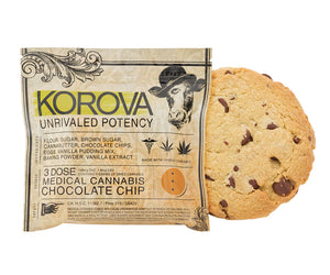 Korova Chocolate Chip Cookie 150mg