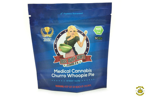 Miss Mary Janes Churro Whoopie Pie